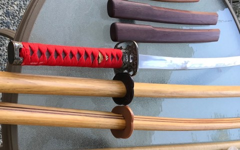 Time to maintain your Aikido weapons